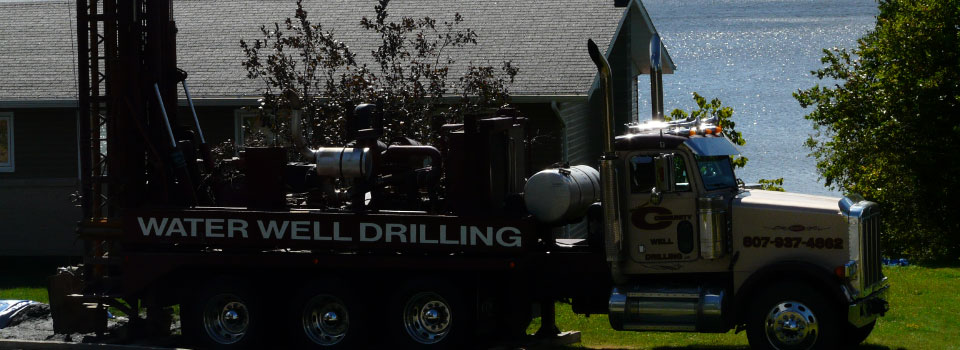 Wolframe's drilling truck